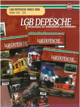 LGB Depesche Index 120-123
