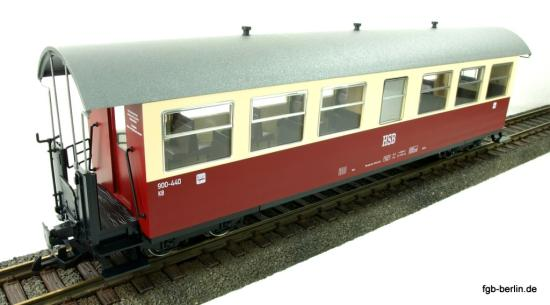 Train Line HSB Personenwagen 7 Fenster 900-440