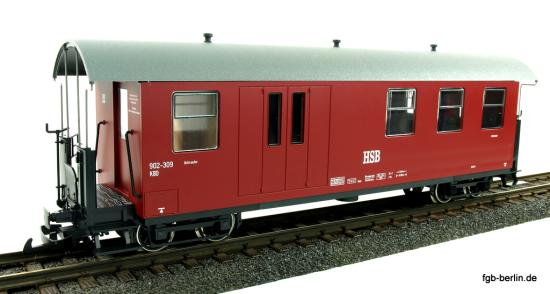 Train Line HSB Packwagen 902-309