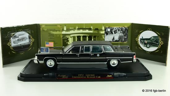Lucky Die Cast Lincoln Continental President Car