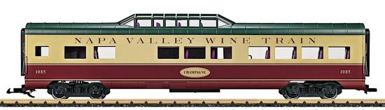 LGB Napa Valley Wine Train Dome Car