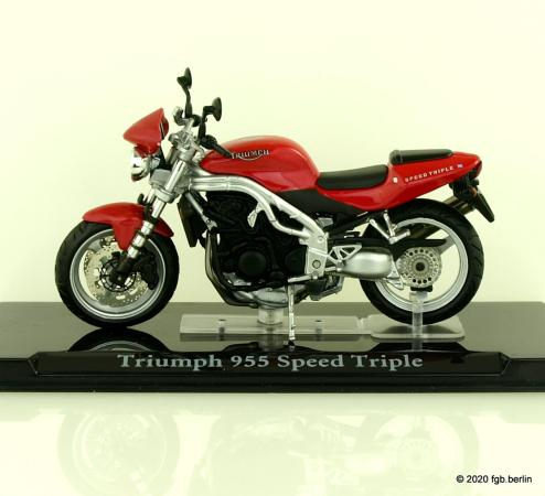 Magazine Models Triumph 955 Speed Triple
