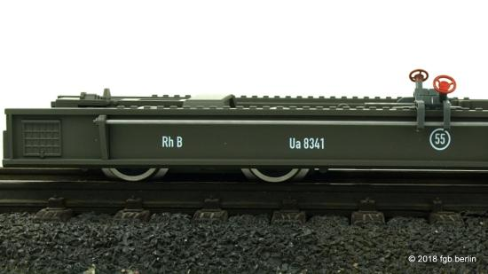Train Line RhB Rollschemel Ua 8341