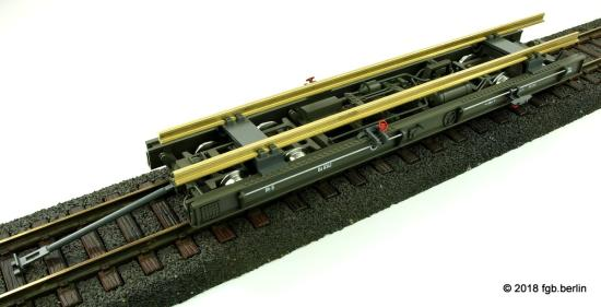 Train Line RhB Rollschemel Ua 4146