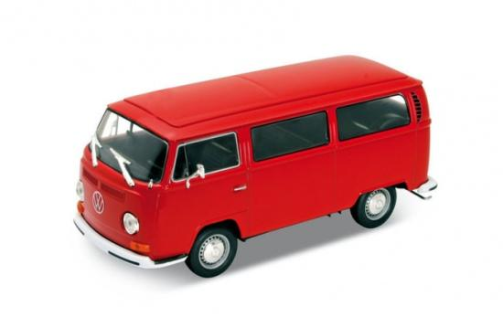 Welly VW T2 Bus, rot, 1972