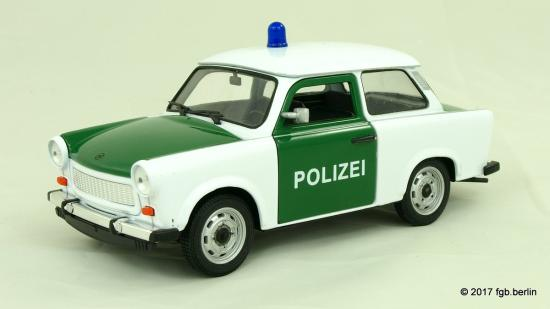 Welly Trabant 601 Polizei