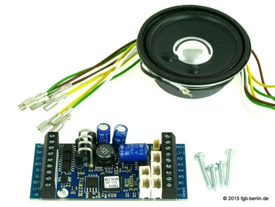 Massoth eMOTION XLS Dampflok-Sounddecoder