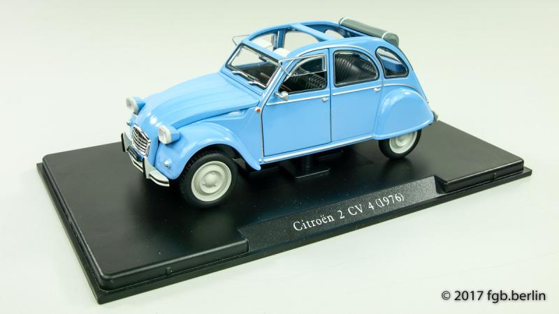 Magazine Models Citroen 2CV 4