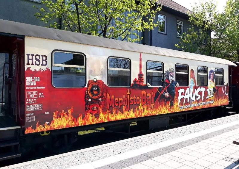 Train Line HSB Personenwagen Faust - Neues Design