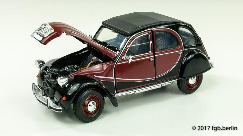 Welly Citroen 2CV 6 Charleston