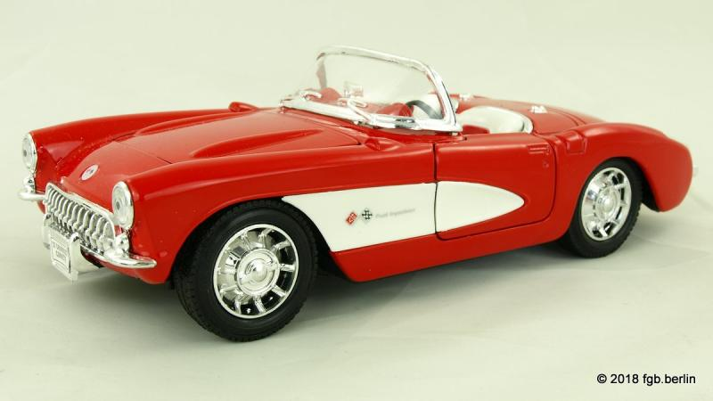 Welly Chevrolet Corvette Cabrio 1957